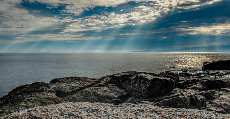 Sunbeams at Schoodic
